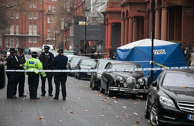 Два поляка погибли в центре Лондона в районе Найтсбридж.