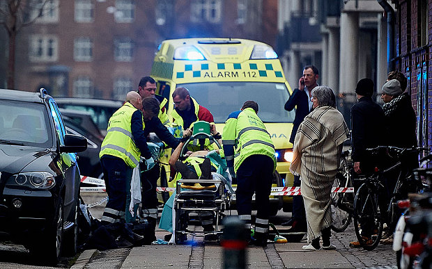 Нападение на кафе и синагогу в Копенгагене.