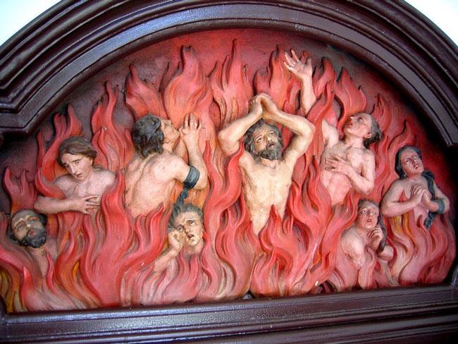 Самоубийцы в Великобритании или для чего души горят в аду.