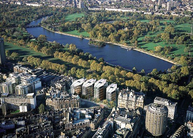Комплекс One Hyde Park в Лондоне – 40% квартир купили россияне.