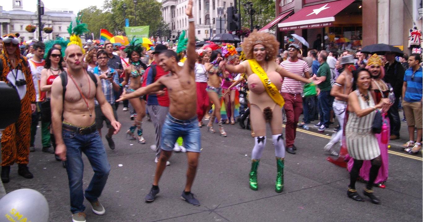 Шабаш секс меньшинств в Лондоне 2015. Деградация людей под предлогом свободы. Что делать?