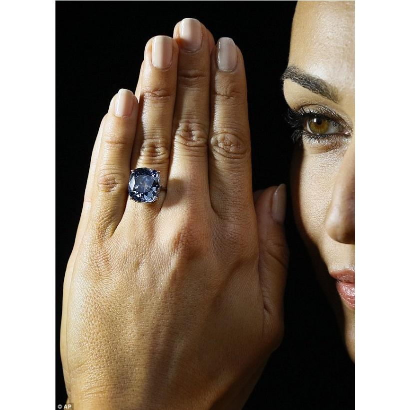 Самые редкие бриллианты мира можно купить в ноябре в Женеве.