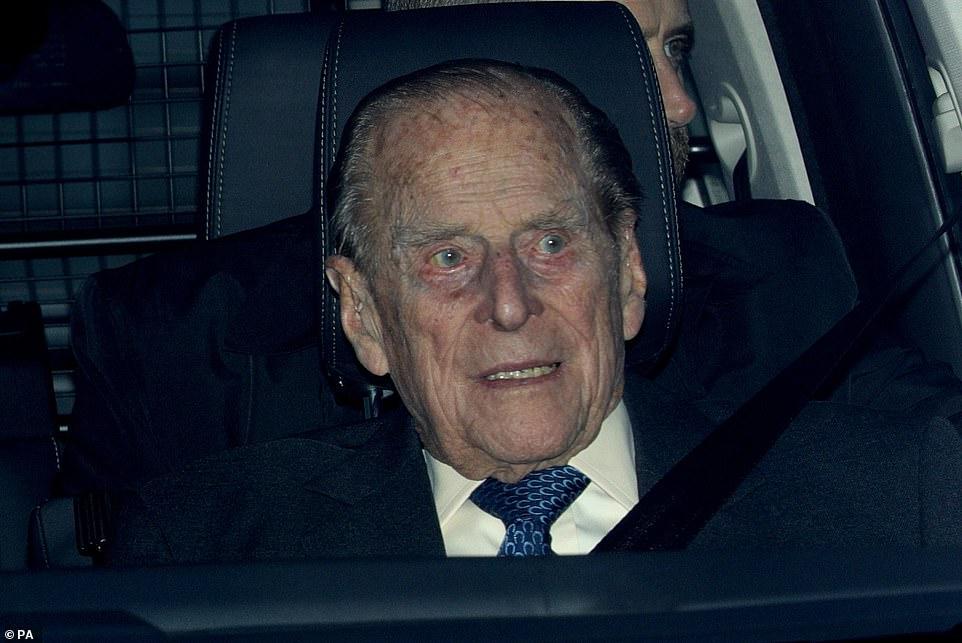 Герцог Эдинбургский попал в аварию.